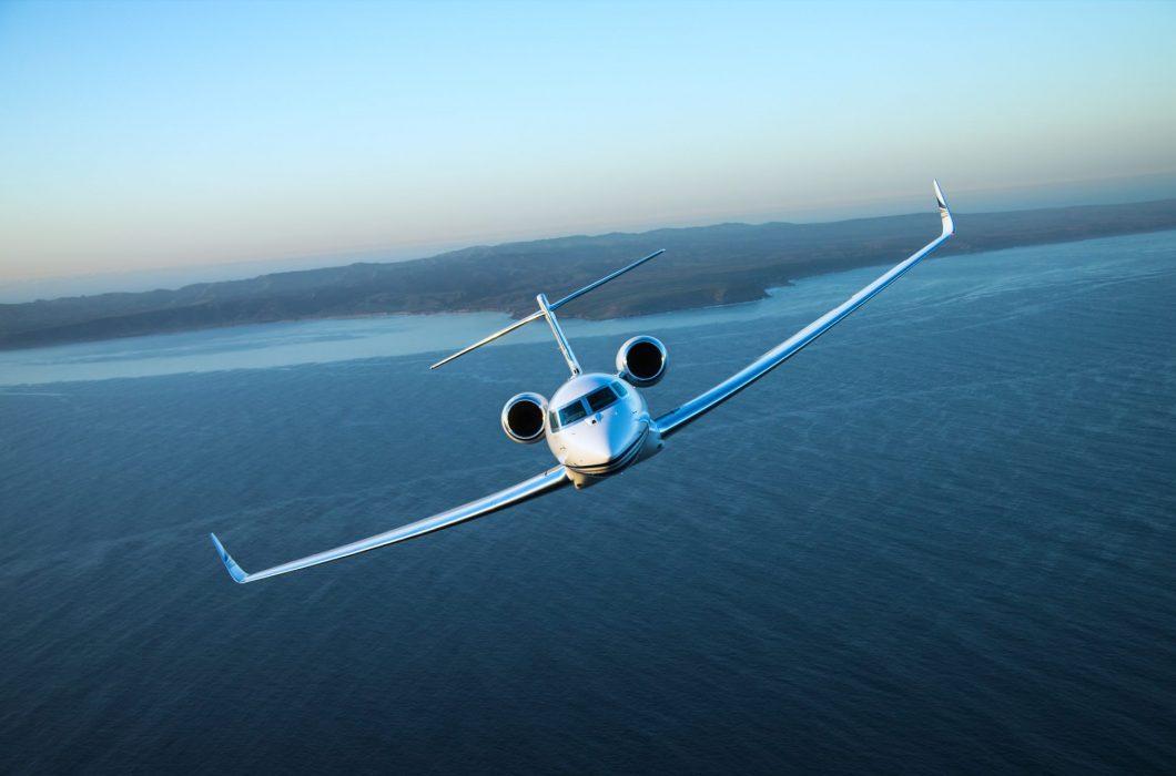 g650 take off